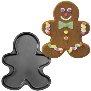 Gingerbread Boy Giant Non-Stick Cookie Pan